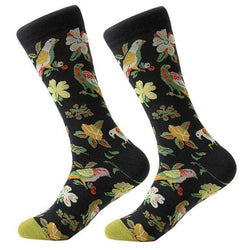 Funky Crew Socks - Totally Tropical - Havana86