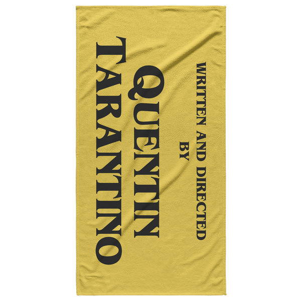 Tarantino Retro Yellow Beach Towel - Havana86