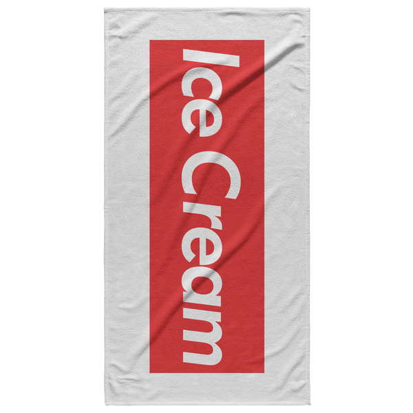 Ice Cream Beach Towel - Havana86