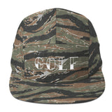 Golf Five Panel Cap - Havana86
