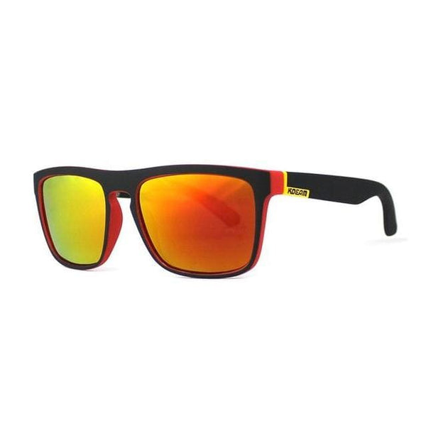 Polarised Wayfarer Sunglasses - Burnt Amber - Havana86