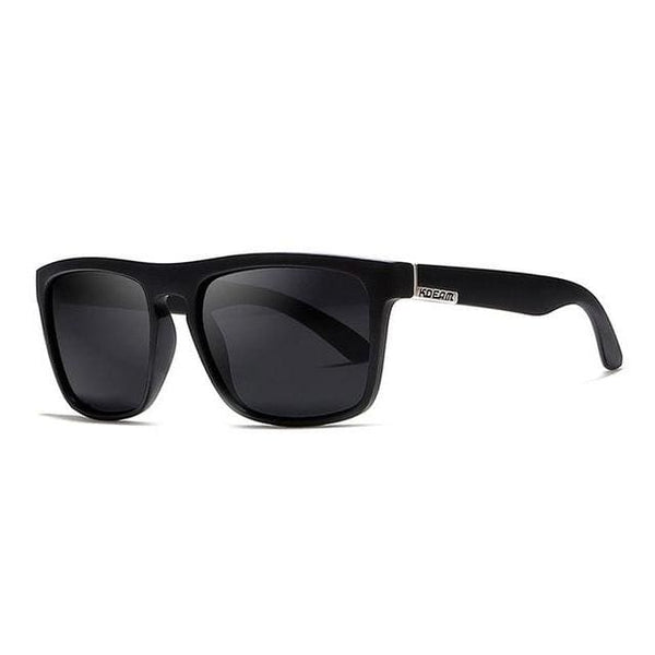 Polarised Wayfarer Sunglasses - Jet Black - Havana86