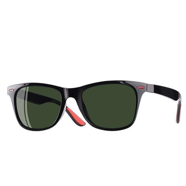 Polarised Wayfarer Sunglasses - Midnight - Havana86