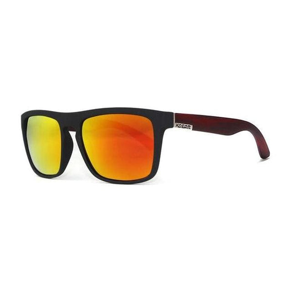 Polarised Wayfarer Sunglasses - Orange Light - Havana86
