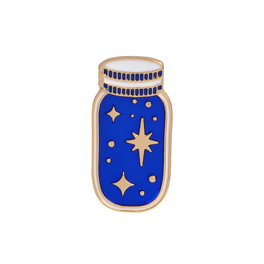 Space Travel Sci-Fi Enamel Pin - Havana86