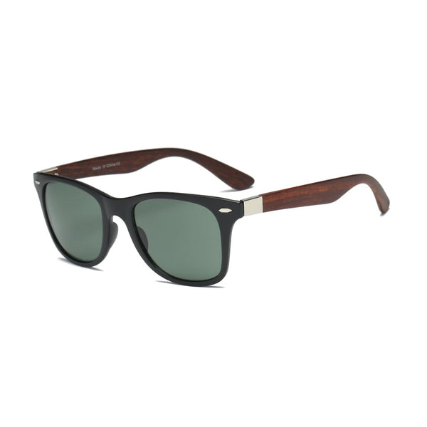 Retro Classic Square Sunglasses - Havana86