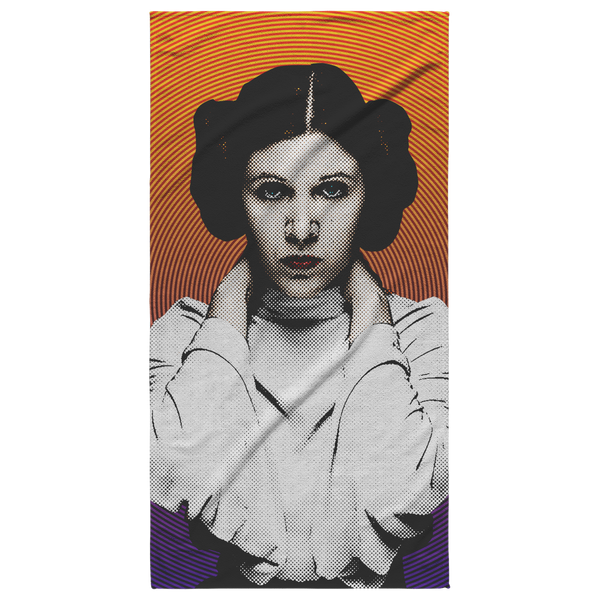Princess Leia Beach Towel - Havana86