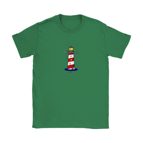 Womens Lighthouse T Shirt - Havana86