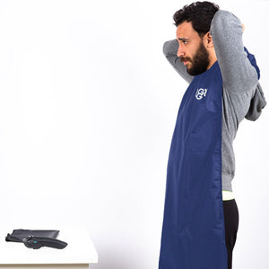 "Snuggs beard cape ""Dark Blue"""