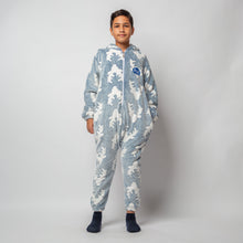 "Snuggs Kids Blanket Onesie ""Blue Dear Onesie"""