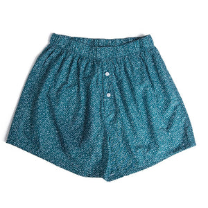 Teal arrows patterned boxer shorts