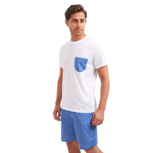 Men comfortable summer pajama set by Snuggs Egypt