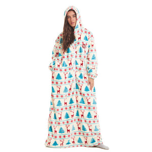 "Snuggs Monk Wearable Blanket ""Christmas"""