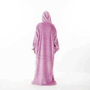 "Snuggs Monk Wearable Blanket ""Diamonds Purple"""