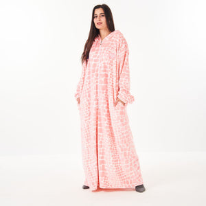 "Snuggs Monk Wearable Blanket ""Stones Orange"""