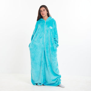 "Snuggs Monk Wearable Blanket ""Turquoise"""
