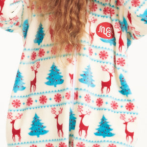 "Snuggs Kids Blanket Onesie ""Christmas"""