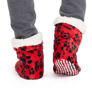 "Snugg Boot ""Red Dog Paws"""