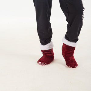 "Snugg Boot ""Maroon"""
