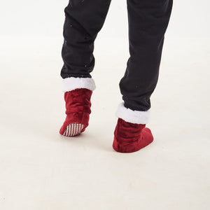 "Snugg Boot ""Dark Red"""