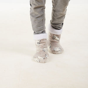 "The Snugg Boot ""Light Taupe Panda"""
