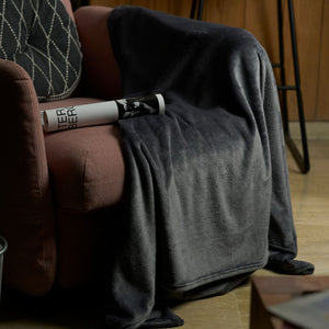 Sofa Blanket Throw - Dark Grey