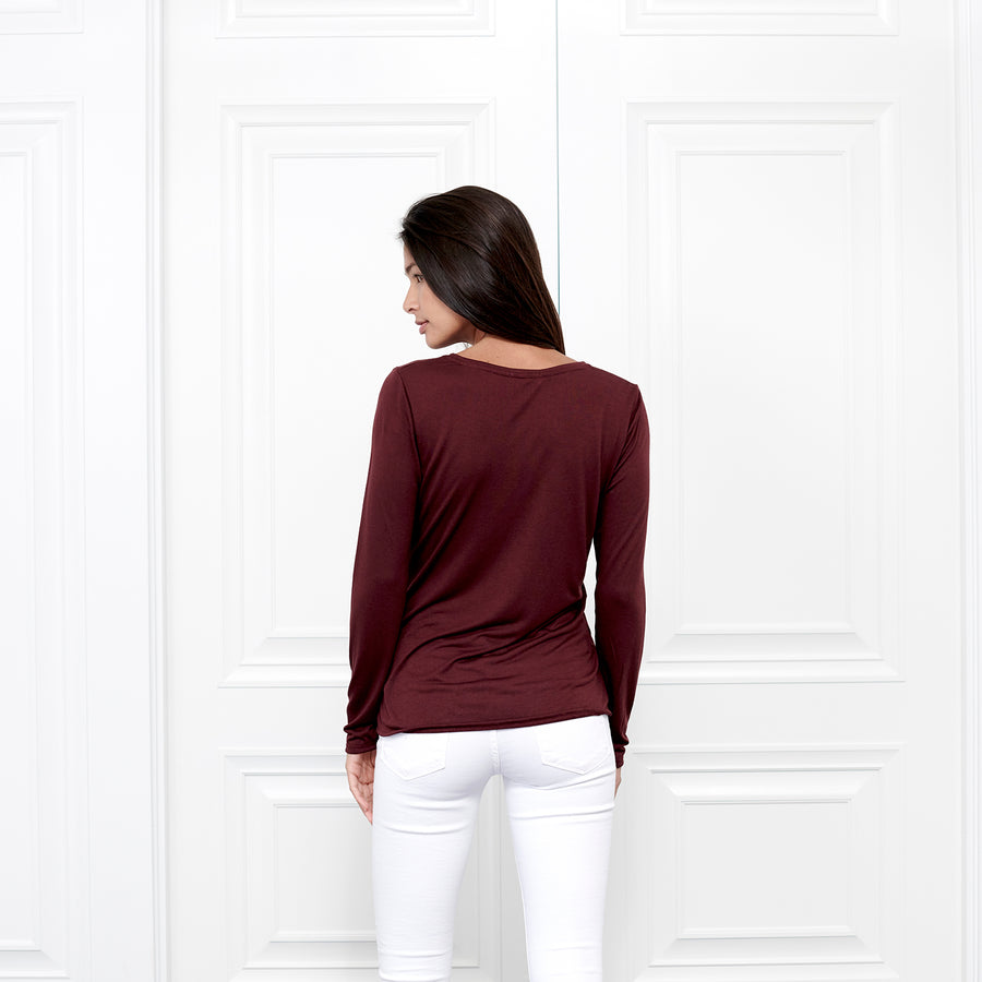Cashmere Crew Neck Long Sleeve - Fite Luxury