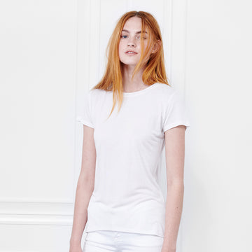 Cashmere Crew Neck Short Sleeve - Fite Luxury