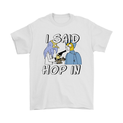 4f4824d5eb3 I Said Hop In The Spruce Moose Mr. Burn The Simpsons Shirts-Gildan Mens