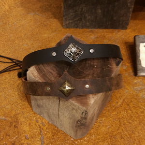 Leather Circlet
