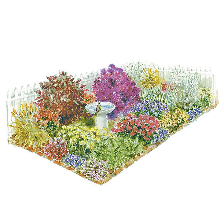 A Garden for All Seasons Garden Plan