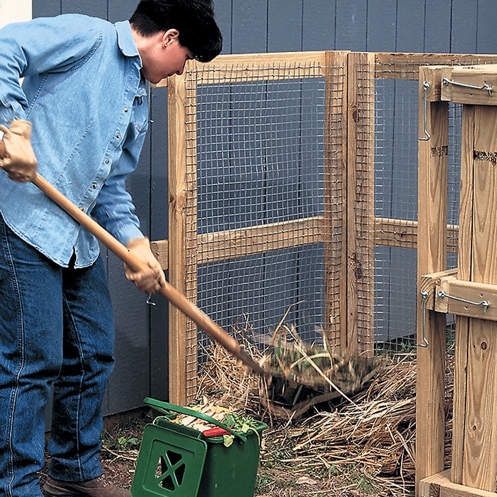 Build a Compost Bin in a Day Garden Project