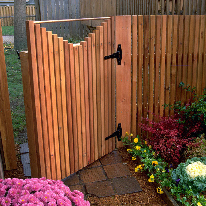 Easy Cedar Gate Plan