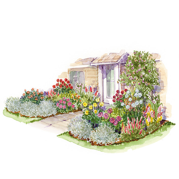 Cut Flower Garden Plan