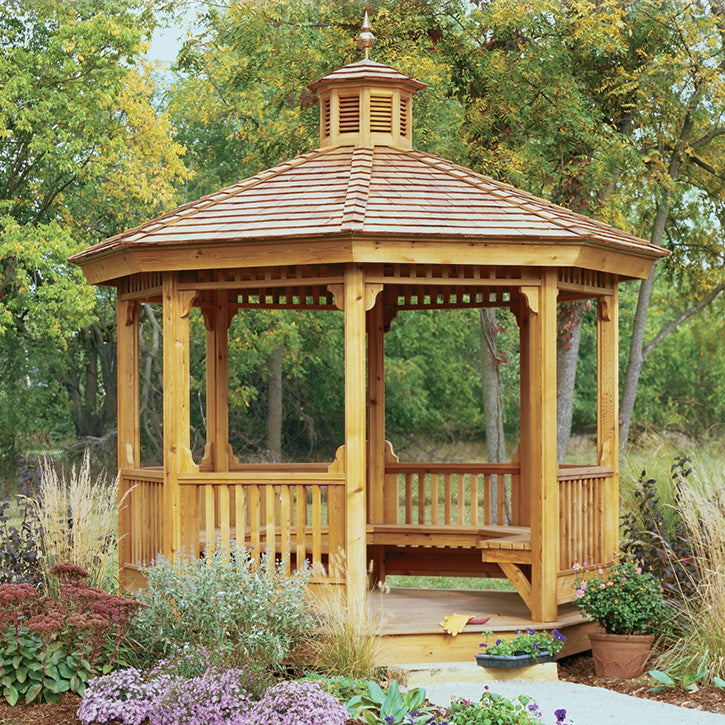 Garden Gazebo Wood Project