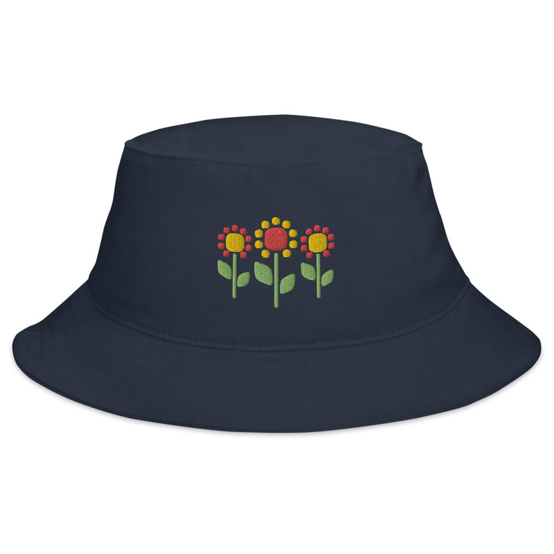 Sunflower Trio Bucket Hat