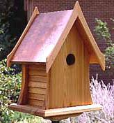 Cottage Birdhouse Project Plan