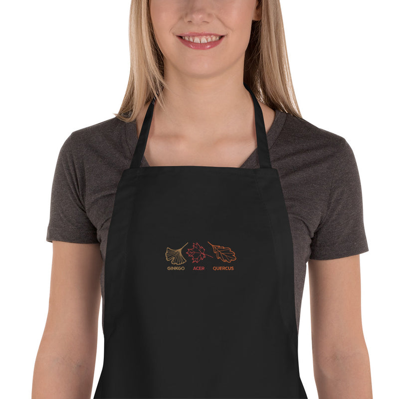 Bee (Hand-drawn) Embroidered Apron