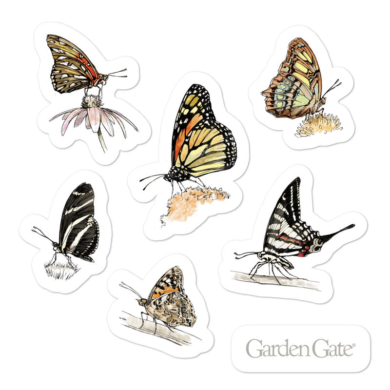 Butterflies Stickers 1
