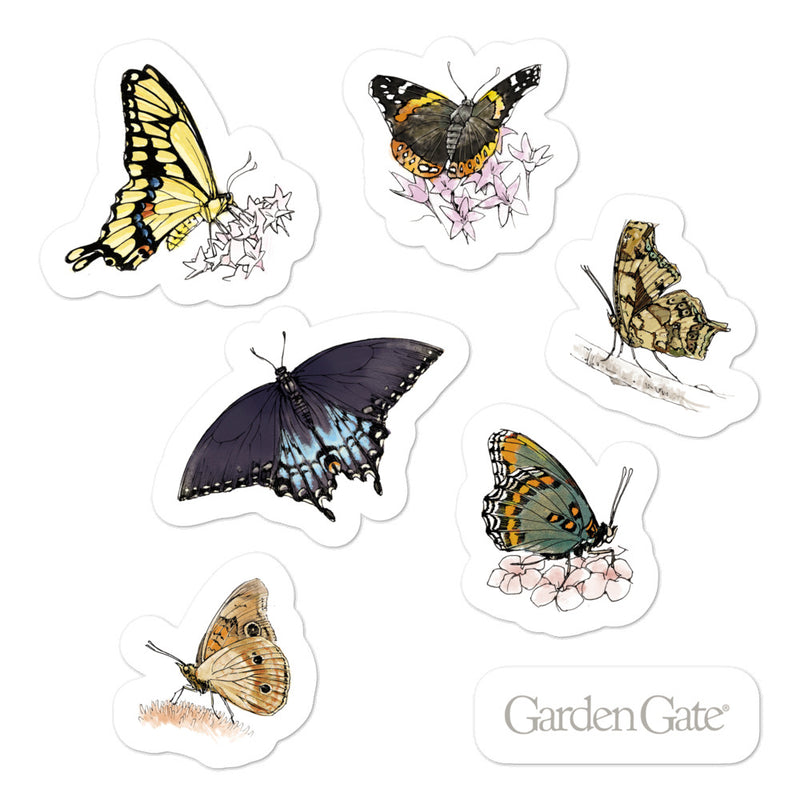Butterflies Stickers 2