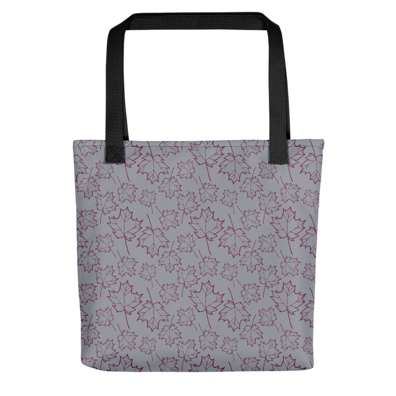 Ginkgo Leaf Tote Bag (Almond Oil/Green Sheen)