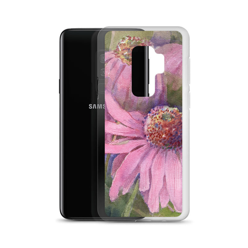Purple Conelower Samsung Case