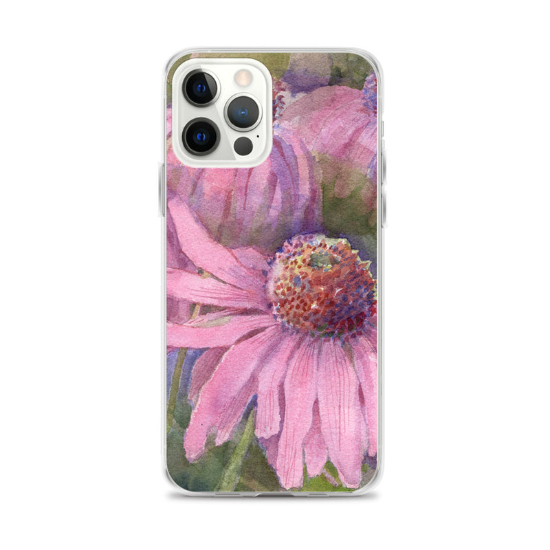 Purple Coneflower iPhone Case