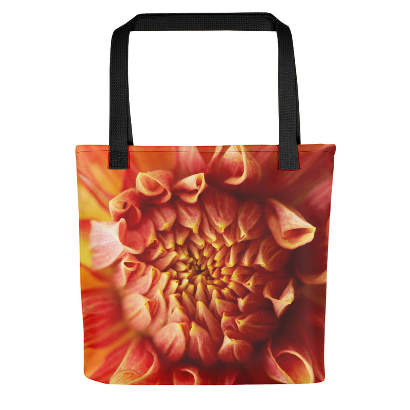 Dahlia Closeup Tote Bag