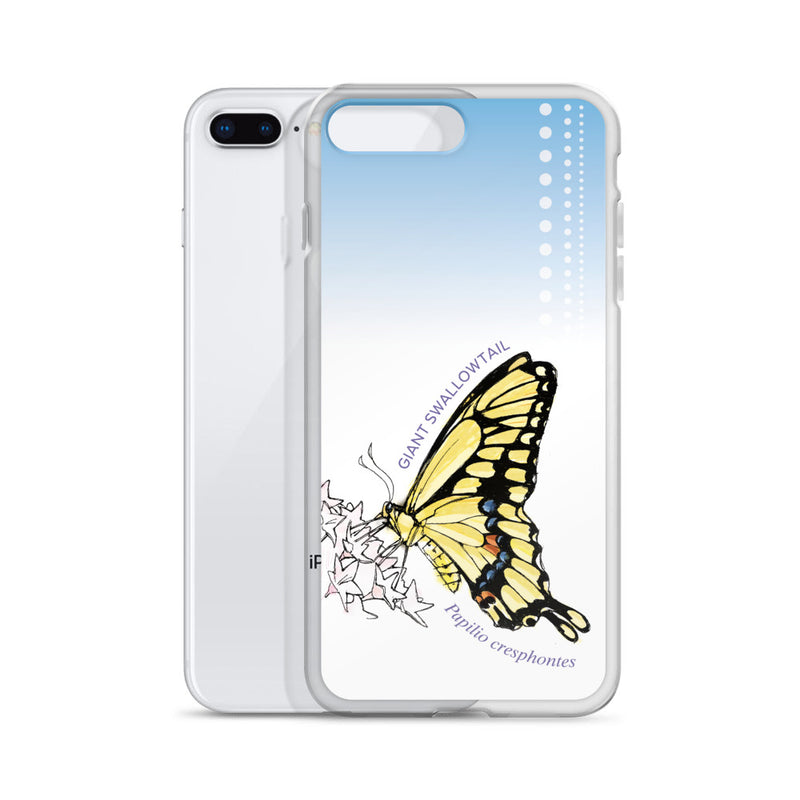 Giant Swallowtail Butterfly iPhone Case