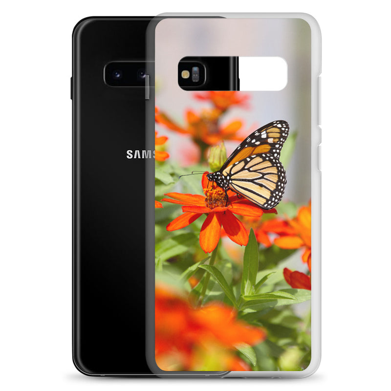 Monarch on Zinnia Samsung Case