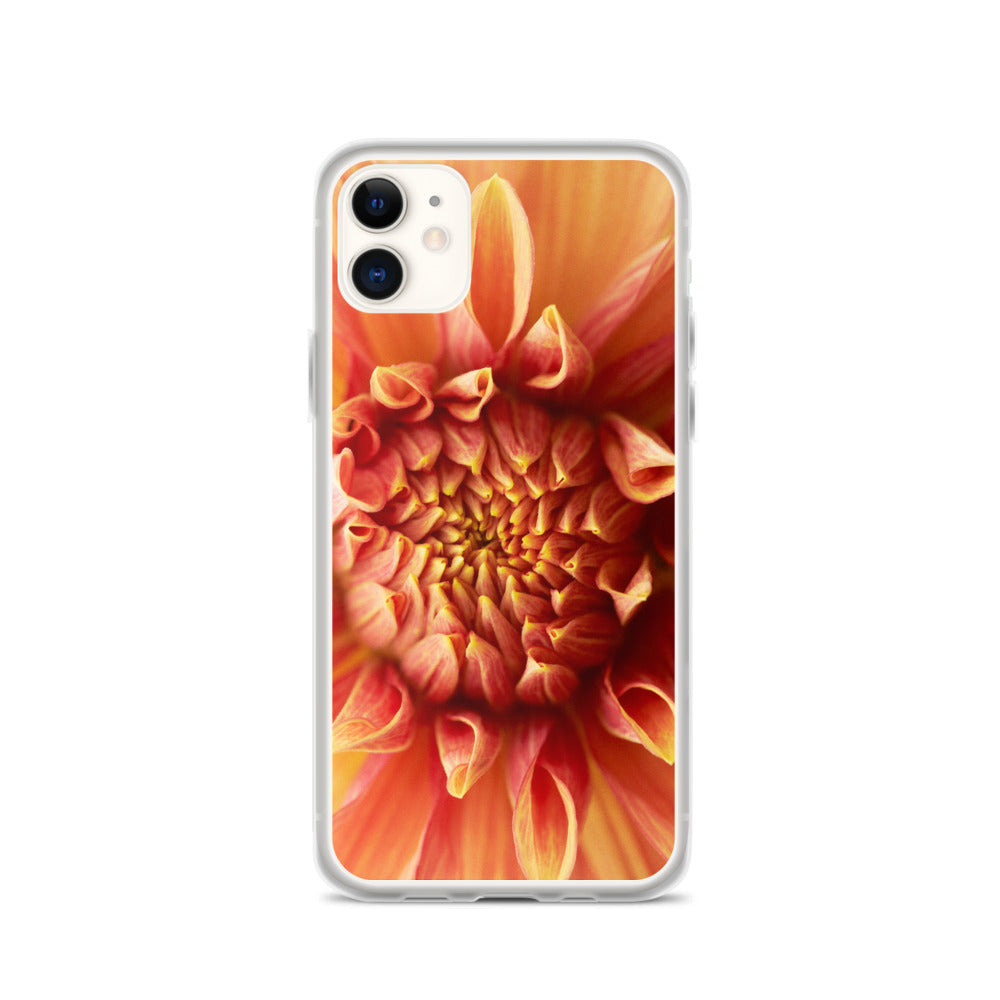 Dahlia Closeup iPhone Case
