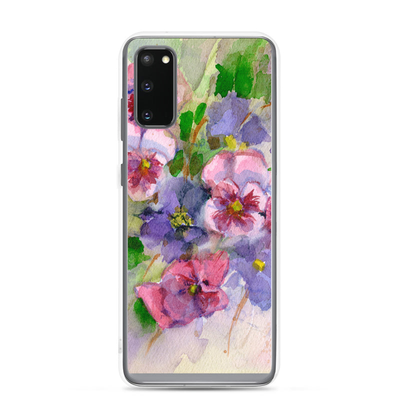 Pansy Samsung Case