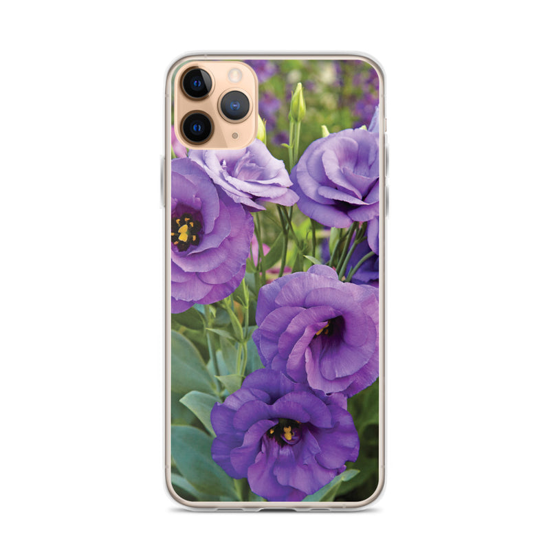 Lisianthus iPhone Case