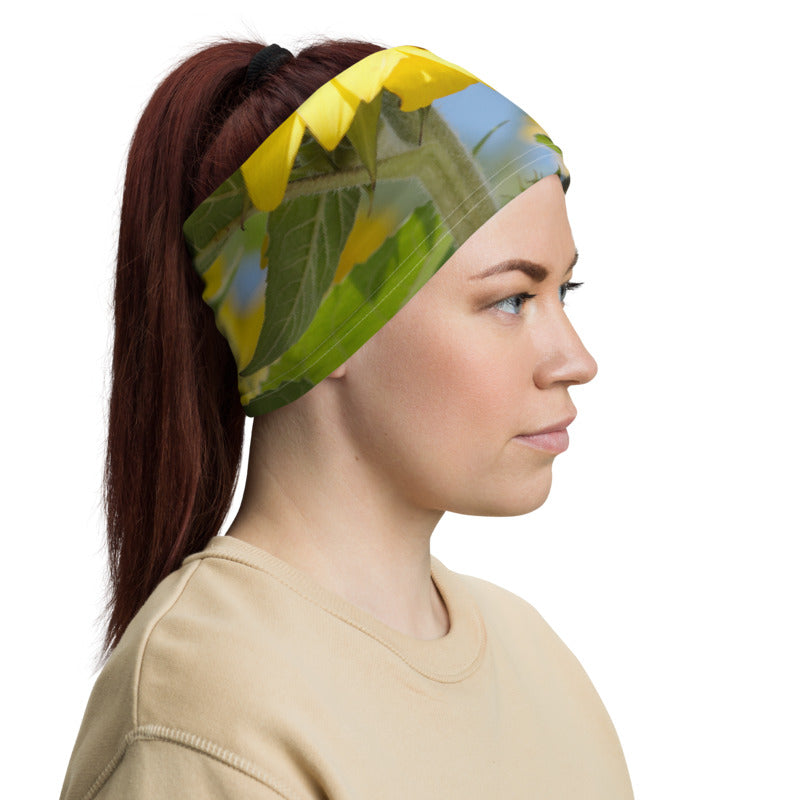 Sunflower Neck Gaiter
